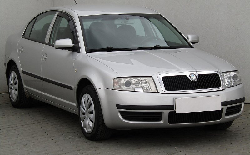 Škoda Superb 2.0i  LPG